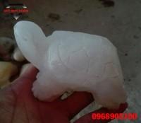 Rùa đá thạch anh phong thủy dùng trấn trạch
